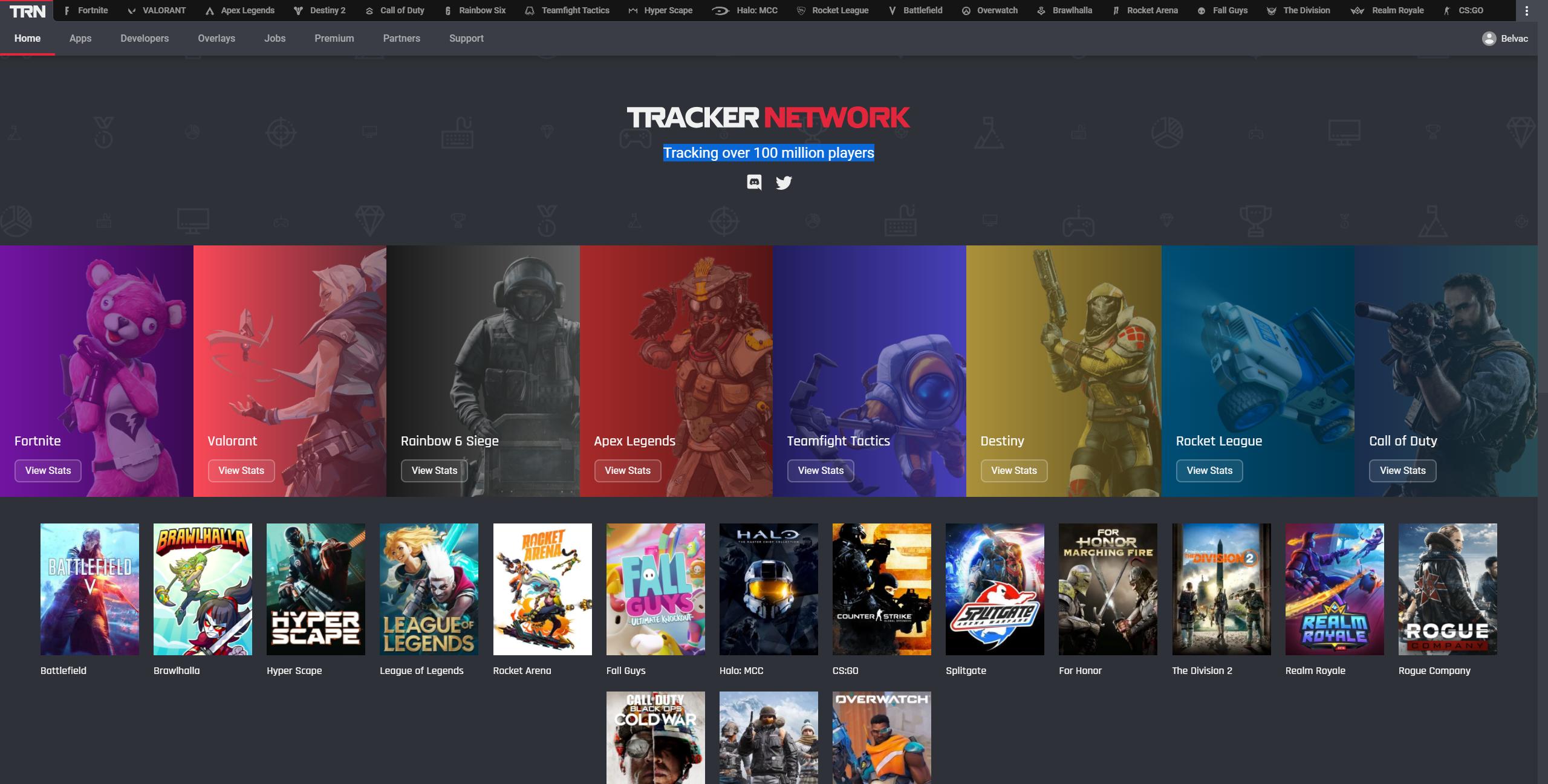 TrackerNetwork